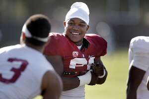 Stanford's Barry Sanders patiently waiting for his time - Photo