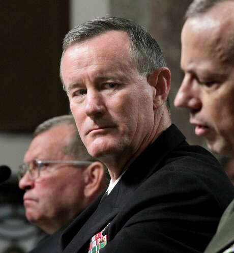 Adm. William McRaven  will return to UT in January as chancellor. Photo: J. Scott Applewhite, STF / ap