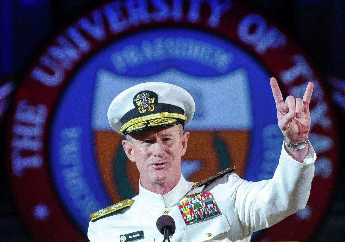 Adm. William H. McRaven: Now the UT System chancellor, McRaven was in charge of U.S. Special Forces during the raid that killed Osama Bin Laden.