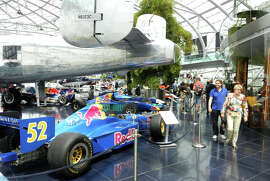 Red Bull tycoon Dietrich Mateschitz's Hangar-7 is a showcase of planes and race cars.