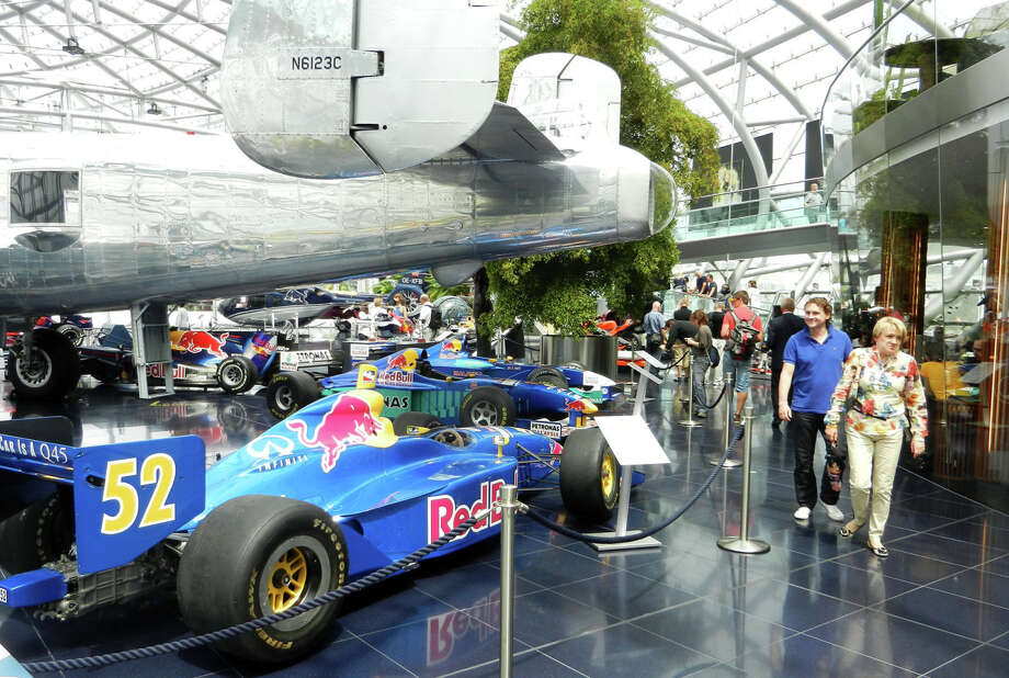 Red Bull tycoon Dietrich Mateschitz's Hangar-7 is a showcase of planes and race cars. Photo: Rick Steves / Rick Steves / Special To The Chronicle / ONLINE_YES
