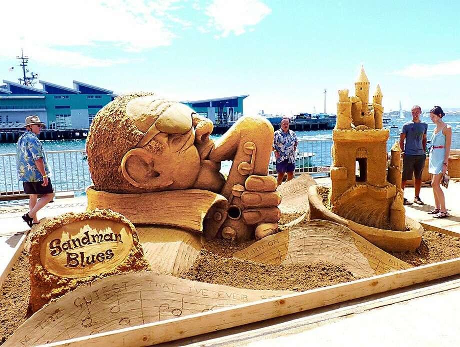 U.S. Sand Sculpting Challenge Photo: Jon Gebhart