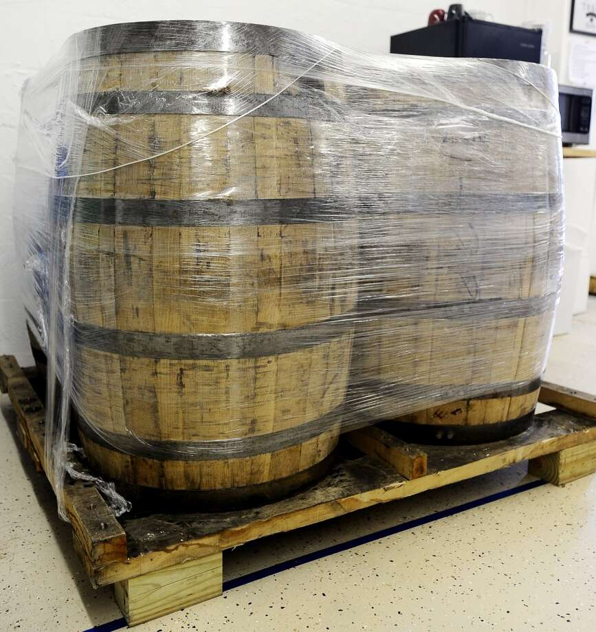 Bourbon barrels for an upcoming product with the Original Texas Legends Distillery in Orange on Wednesday, October 24, 2012. Photo taken: Randy Edwards/The Enterprise