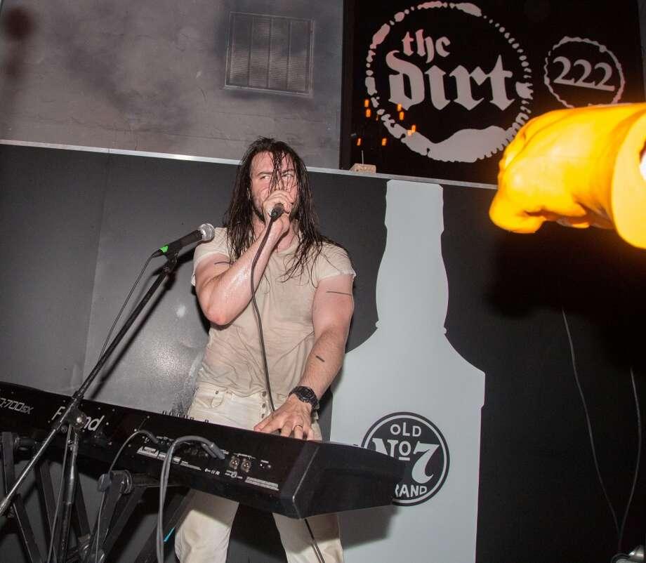 Andrew WK at Dirt Bar. Photo: Juan M. Ocañas