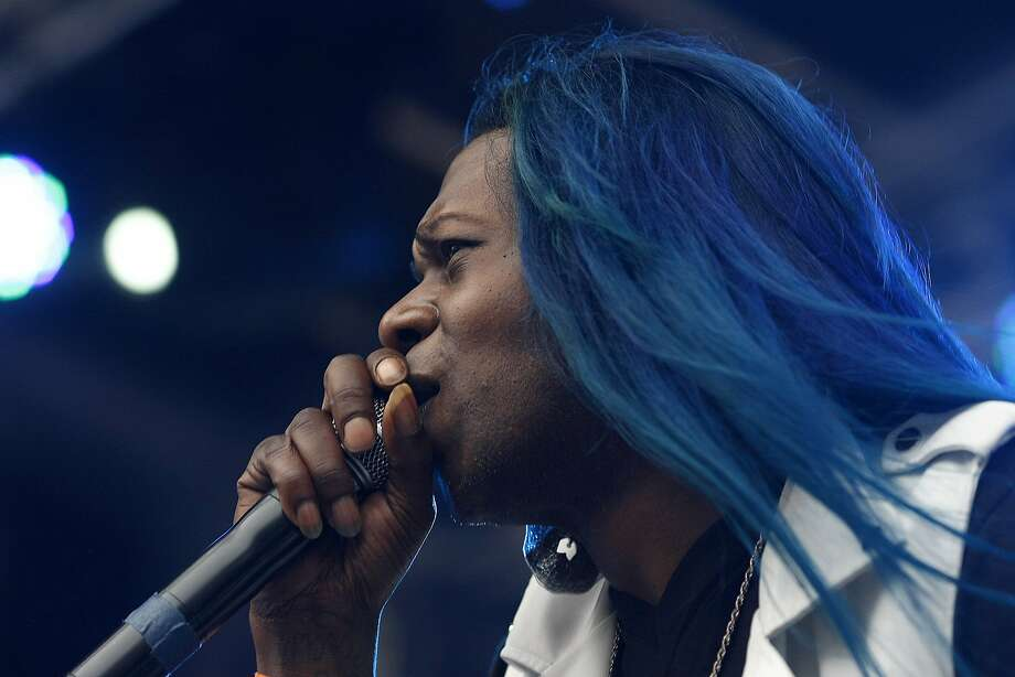 Big Freedia performs at the Panhandle stage at Outside Lands Saturday, Aug. 9, 2014 in San Francisco, Calif. The festival featured a variety of acts from Tom Petty to Macklemore. Photo: James Tensuan, The Chronicle