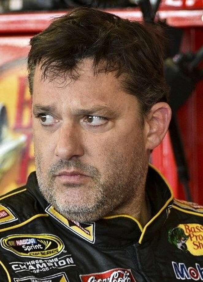 Tony Stewart withdrew from Sunday's NASCAR race. Photo: Derik Hamilton, Associated Press