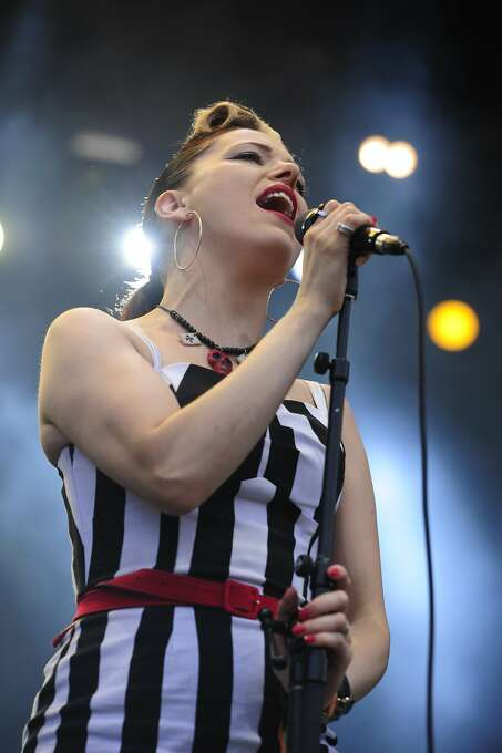Imelda May performs on the Lands End stage at Outside Lands Music Festival in Golden Gate Park on August 10, 2014 in San Francisco, CA. Photo: Craig Hudson, The Chronicle