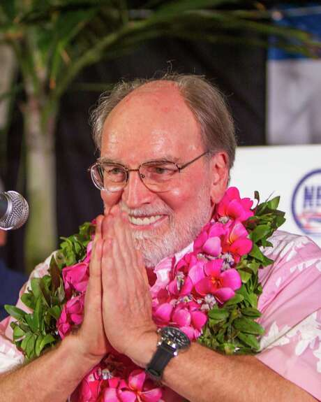 Hawaii Gov. Neil Abercrombie speaks to supporters after conceding to David Ige. Photo: Marco Garcia, FRE / FR132415 AP