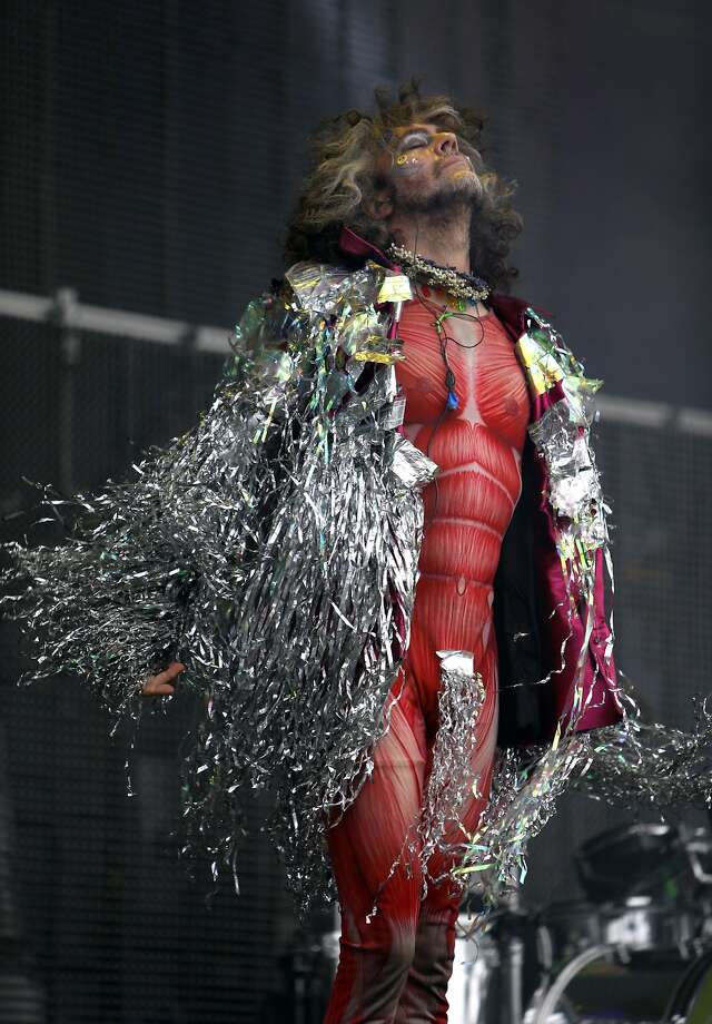 Wayne Coyne of The Flaming Lips performs during Outside Lands festival at Golden Gate Park in San Francisco, Calif. on Sunday, August 10, 2014. Photo: Scott Strazzante, The Chronicle