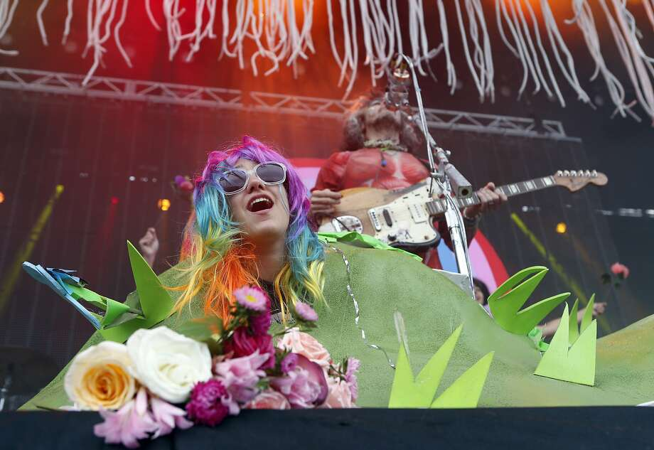 The Flaming Lips perform during Outside Lands festival at Golden Gate Park in San Francisco, Calif. on Sunday, August 10, 2014. Photo: Scott Strazzante, The Chronicle