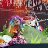 The Flaming Lips perform during Outside Lands festival at Golden Gate Park in San Francisco, Calif. on Sunday, August 10, 2014.