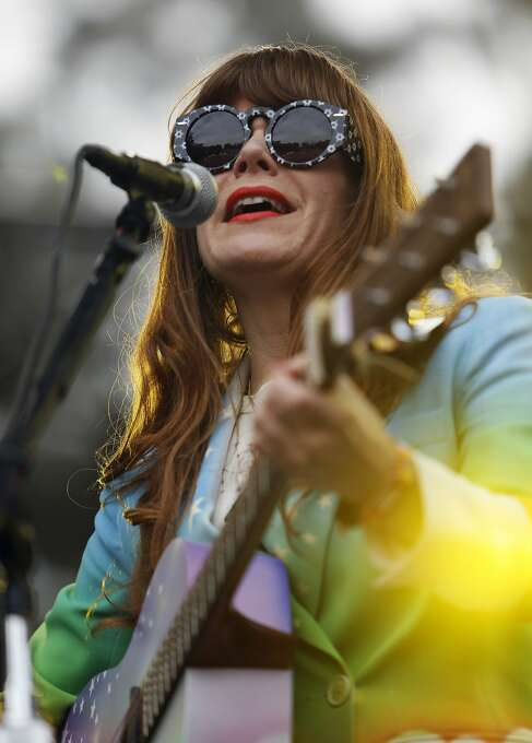 Jenny Lewis plays the Sutro stage during Outside Lands festival at Golden Gate Park in San Francisco, Calif. on Sunday, August 10, 2014. Photo: Scott Strazzante, The Chronicle