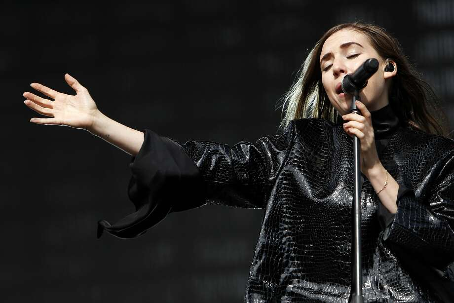 Lykke Li performs at Twin Peaks stage during Outside Lands festival at Golden Gate Park in San Francisco, Calif. on Sunday, August 10, 2014. Photo: Scott Strazzante, The Chronicle