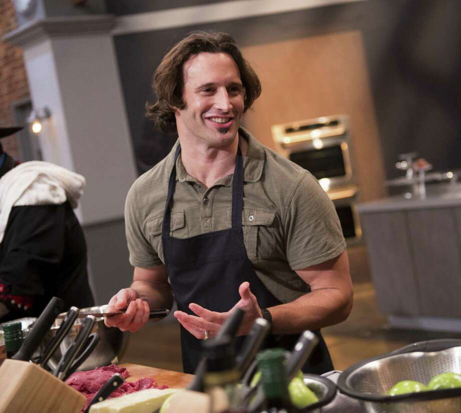 "Luca Della Casa, executive chef of Nosh and Silo restaurants, didn't get enough voter support to win the top prize of ""Food Network Star."" Photo: Food Network / Courtesy Photo / © 2014, Television Food Network, G.P. All Rights Reserved."