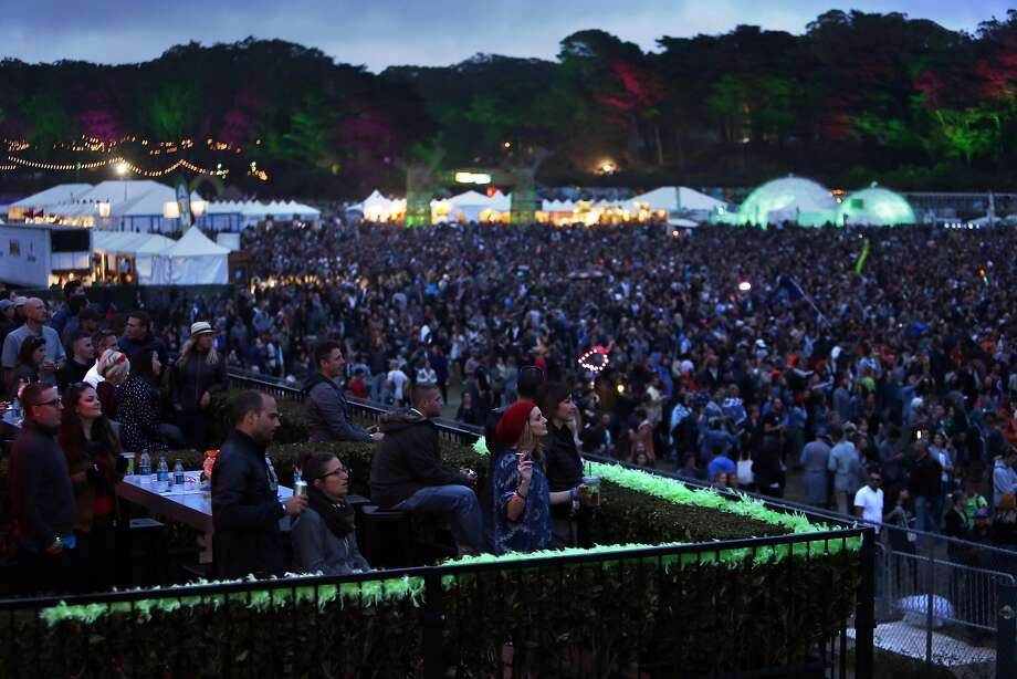 The crowd watches The Killers during Outside Lands festival at Golden Gate Park in San Francisco, Calif. on Sunday, August 10, 2014. Photo: Scott Strazzante, The Chronicle