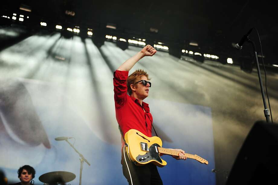 Spoon performs on the Lands End stage at Outside Lands Music Festival in Golden Gate Park on August 10, 2014 in San Francisco, CA. Photo: Craig Hudson, The Chronicle