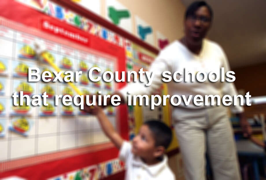 Nearly 50 schools in Bexar County were labeled 'improvement required' in the Texas Education Agency's 2014 school ratings. For a charter district to have its charter revoked, it must receive that label three years in a row in academic or financial performance ratings. Based on that state law, five of the schools on this list had their charters revoked Tuesday.To see how your child's school performed, search our database. Photo: HELEN L. MONTOYA, San Antonio Express-News