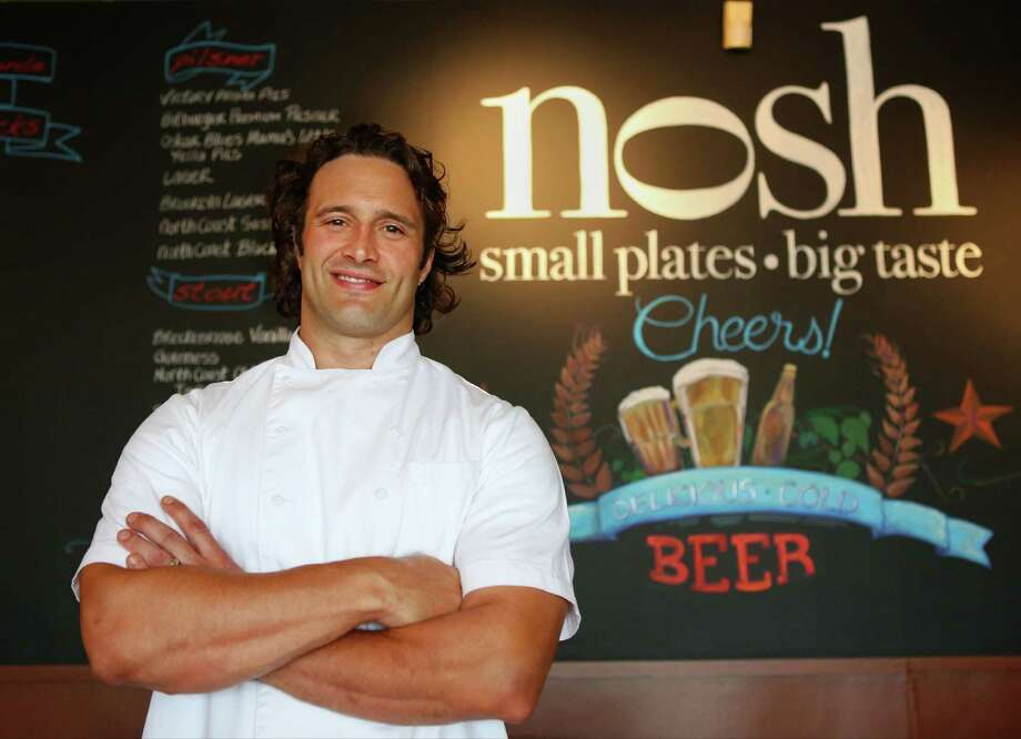 "Luca Della Casa, executive chef at Nosh, was the runner-up on Season 10 of ""Food Network Star."" Photo: Timothy Tai, San Antonio Express-News / © 2014 San Antonio Express-News"