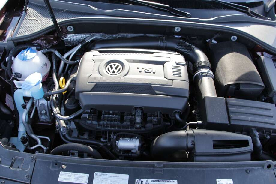 This year, VW replaced the five-cylinder engine in the Passat with a 1.8-liter turbocharged four-banger that puts out 170 horsepower and drives through either a six-speed automatic or a five-speed manual. (We had the automatic.)
