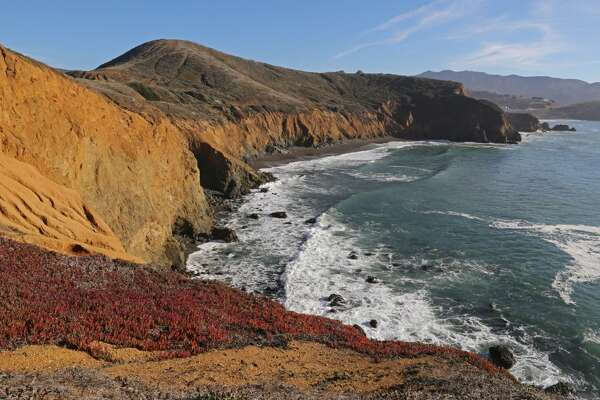 Point Reyes National Seashore's more common pronunciation seems to be 'point rey-YES,' although we've heard locals call it 'point RAYS.'