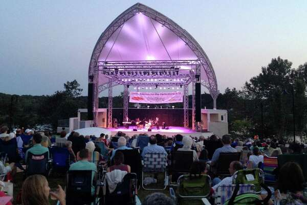 A large crowd turned out Saturday evening for Early Clover's tribute to early rhythm-and-blues legends at the Levitt Pavilion.