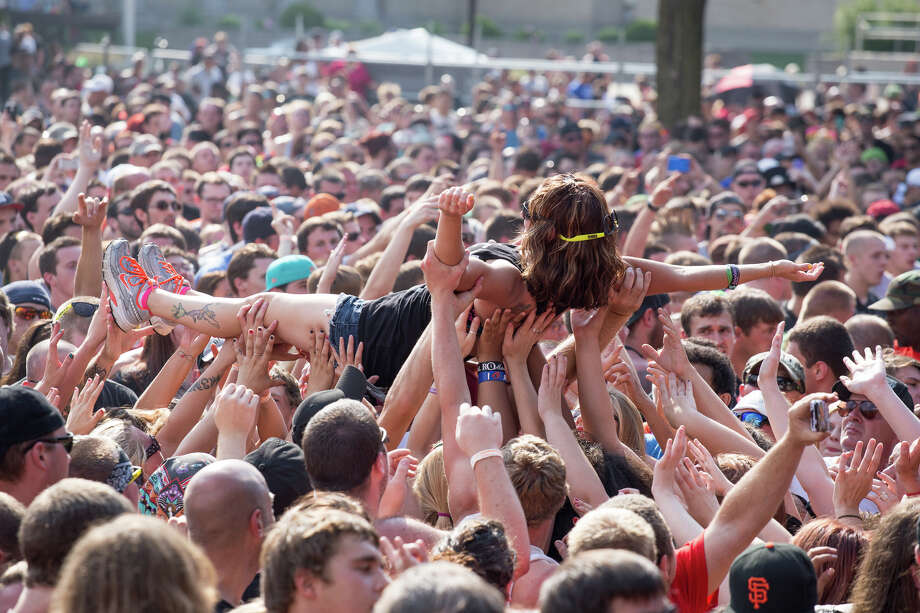 Fans attend K-Rockathon 19 on Saturday, Aug. 2., 2014, at the New York State Fairgrounds in Syracuse, N.Y. Photo: Trudi Hargis, Trudi Shaffer / Times Union / Trudi Hargis Photography