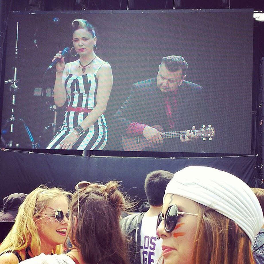 Imelda May at Lands End Stage. Photo: Courtesy Douglas Zimmerman
