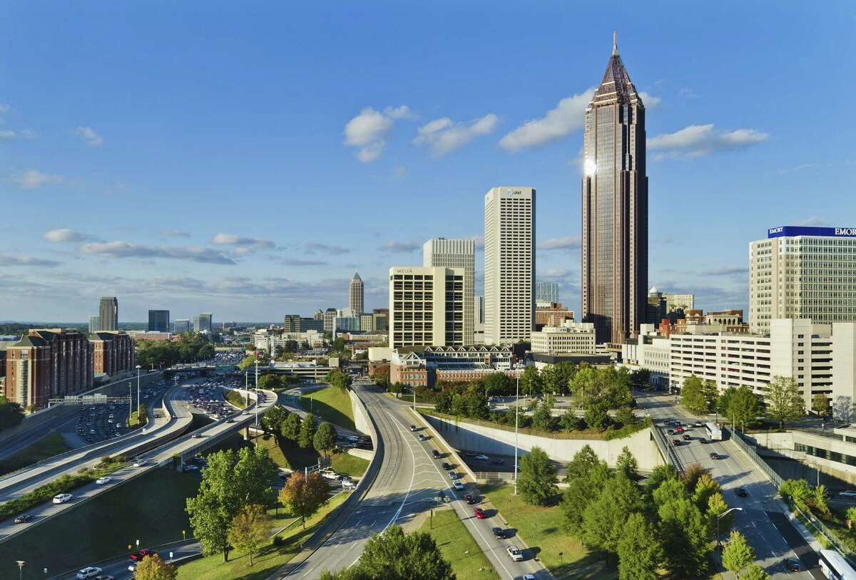 Atlanta, Georgia Number of days above 90 degrees Present: 43 2050: 87 2100: 124 Source:Climate Central
