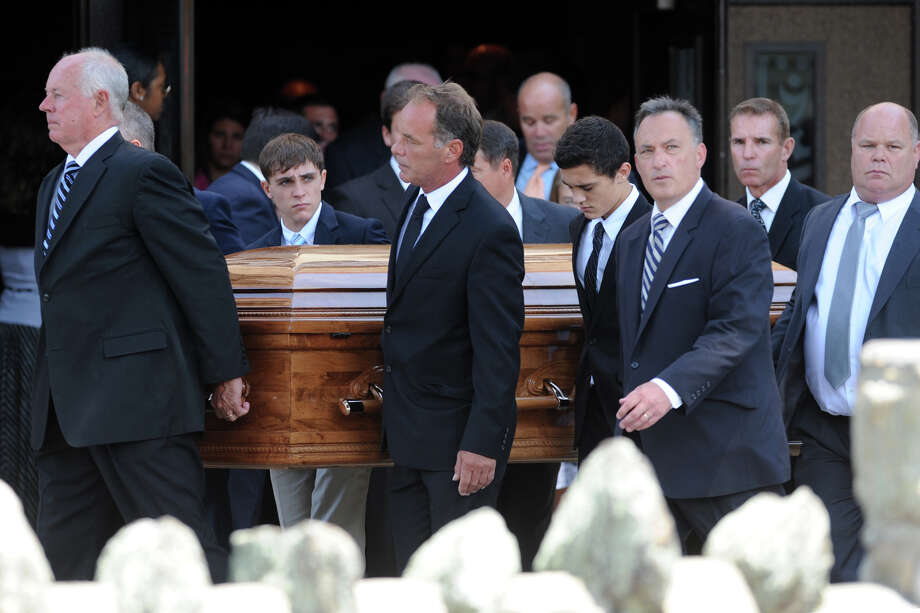 The funeral service for Emily Fedorko, 16, of Greenwich, at St. Clement Church in Stamford, Conn. Aug. 11, 2014. Fedorko was killed in a boating accident in Greenwich last Wednesday. Photo: Ned Gerard / Connecticut Post