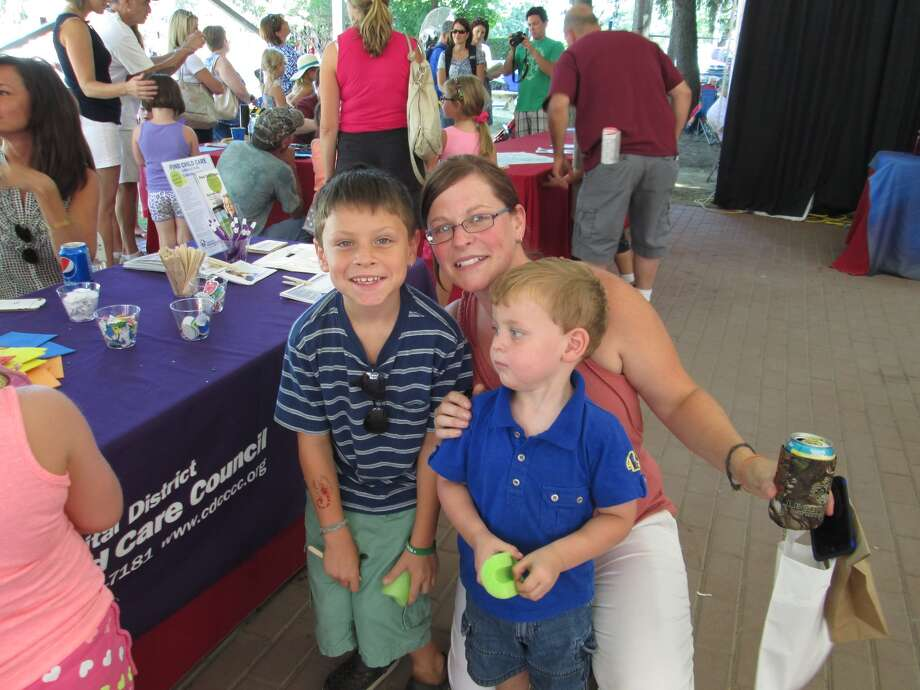 Were you seen at Berkshire Bank Family Mondays held at Saratoga Race Course on Monday, Aug 11.  Berkshire Bank Family Mondays are held every Monday through Labor Day. Photo: Anne Bongermino
