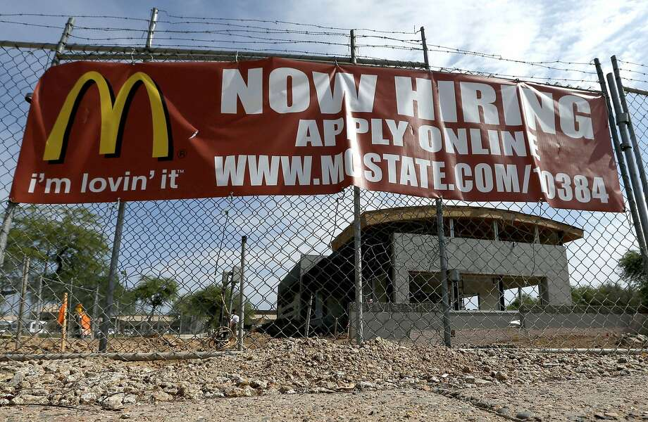 Low-paying jobs at McDonald's and elsewhere in the fast-food sector are the kind often being created as the U.S. economy bounces back. Photo: Ross D. Franklin, Associated Press