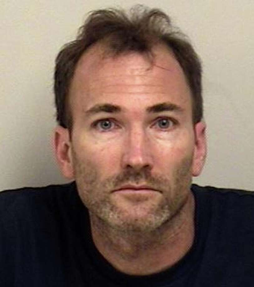 Charles Steuer, 46, of Bohemia, N.Y., was charged with two counts of possession of narcotics and illegal storage of narcotics outside of the proper container after he was stopped for speeding  Sunday on the Sherwood Island Connector, police said. Photo: Westport Police Department / Westport News