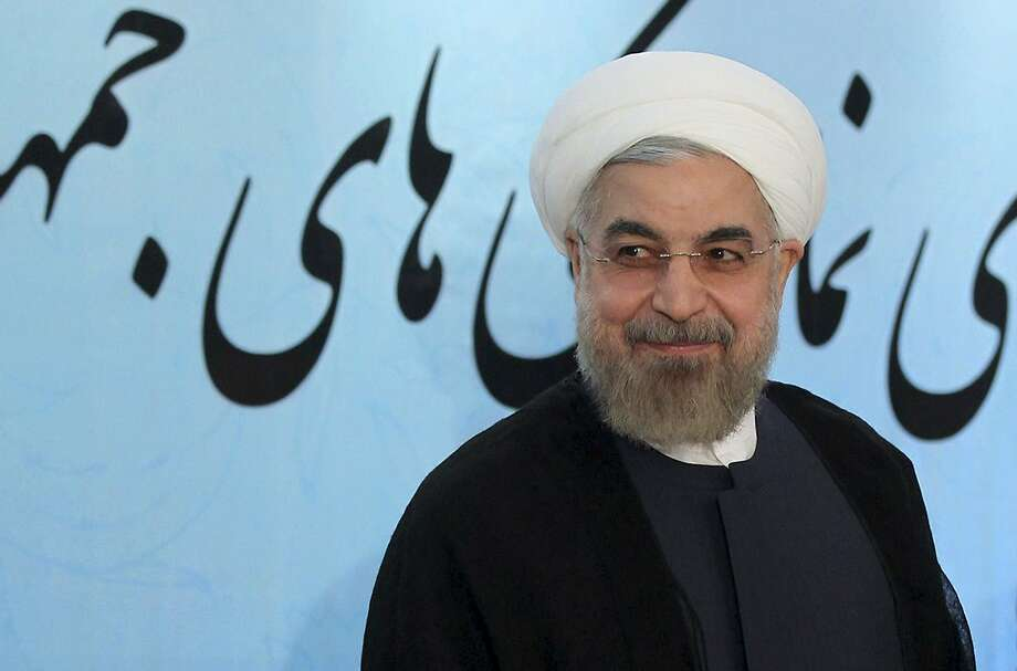 Iranian President Hassan Rouhani is pushing a deal. Photo: Mohammad Berno, Associated Press