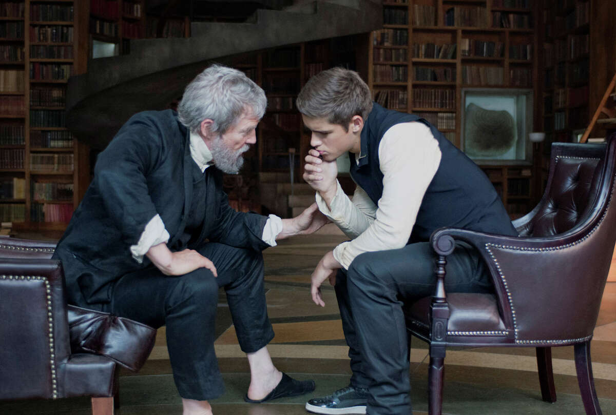 'The Giver' is based on Lois Lowry's 1993 classic - is it too early to call it that? - of the same name. The movie stars Jeff Bridges and Brenton Thwaites.Keep clicking to see what other movies first started off as books.