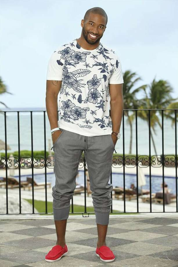 BACHELOR IN PARADISE:  MARQUEL MARTIN, Andi's season (Cookie Monster) Photo: Bob D'Amico, ABC / © 2014 American Broadcasting Companies, Inc. All rights reserved.
