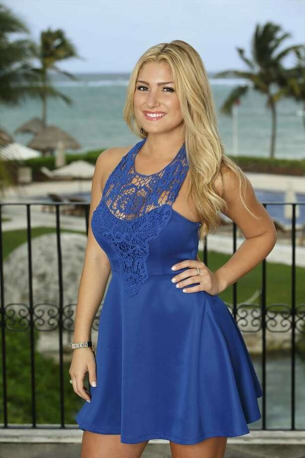 BACHELOR IN PARADISE: ELISE MOSCA, Juan Pablo's season Photo: Bob D'Amico, ABC / © 2014 American Broadcasting Companies, Inc. All rights reserved.