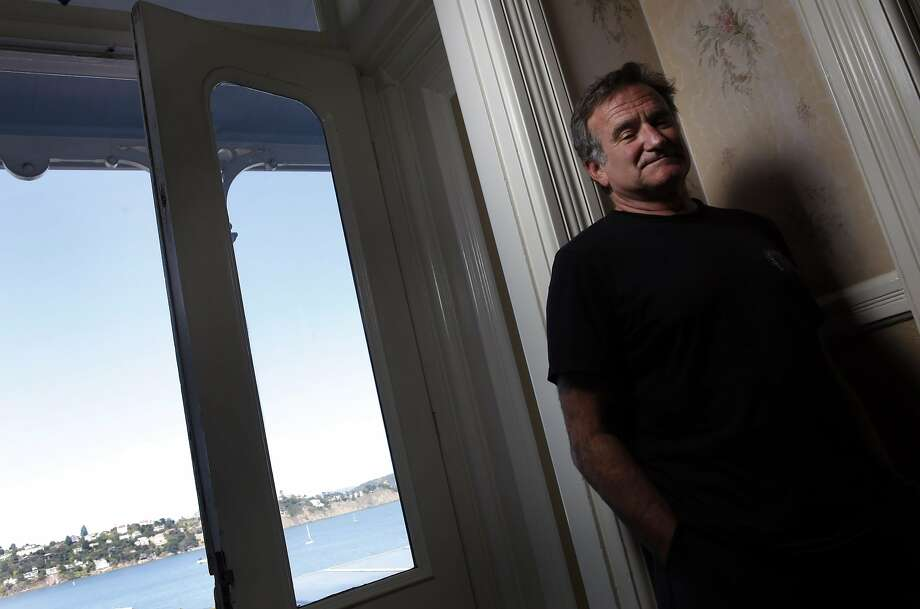 "Robin Williams for a feature on their new movie ""World's Greatest Dad."" Photo: Carlos Avila Gonzalez, SFC"