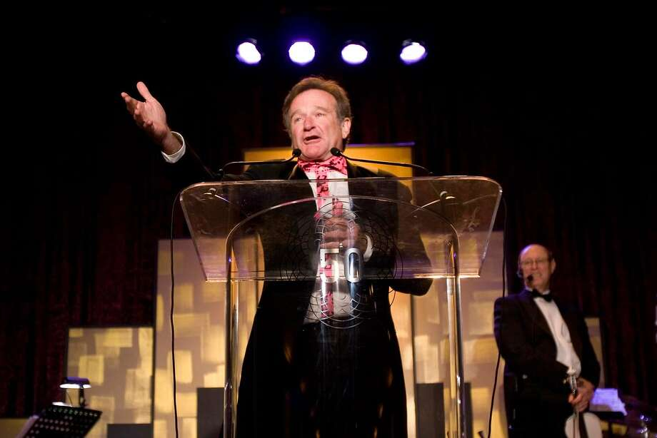 The San Francisco Film Society hosted its 50th Awards Gala at the St. Francis Hotel with Robin Williams in 2010. Photo: Pamela Gentile, Freelance