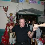 Robin Williams takes a spin with Sonya Molodetskya in 2005 at Pena PanchaMama in North Beach.