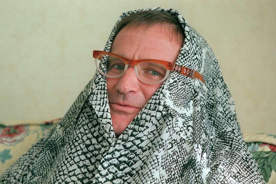 Robin Williams is seen in a November, 1995 file photo. Photo: Chris Stewart, SFC