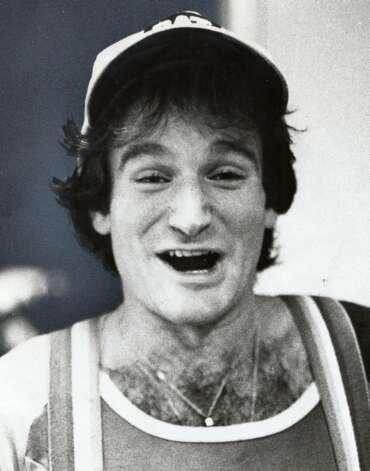 Robin Williams was an aspiring comedian in 1978. Photo: Ho
