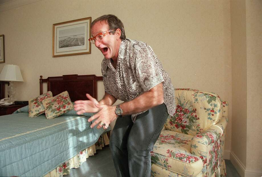 Robin Williams is seen in a November, 1995, file photo.  Photo: Chris Stewart, SFC