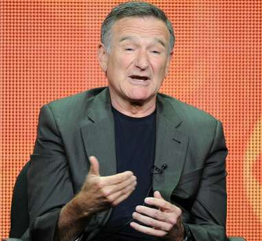 "In this July 29, 2013 file photo, actor Robin Williams participates in the ""The Crazy Ones"" panel at the 2013 CBS Summer TCA Press Tour at the Beverly Hilton Hotel in Beverly Hills, Calif.  Photo: Frank Micelotta, Associated Press"