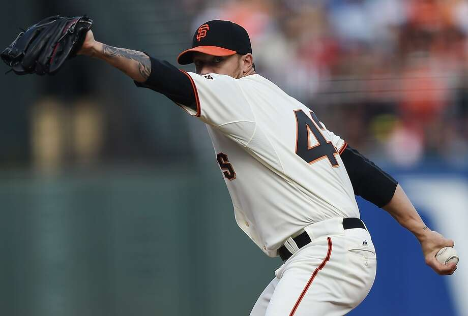 Jake Peavy's career was endangered before the experimental surgery in which a shoulder muscle was reattached. Photo: Thearon W. Henderson, Getty Images