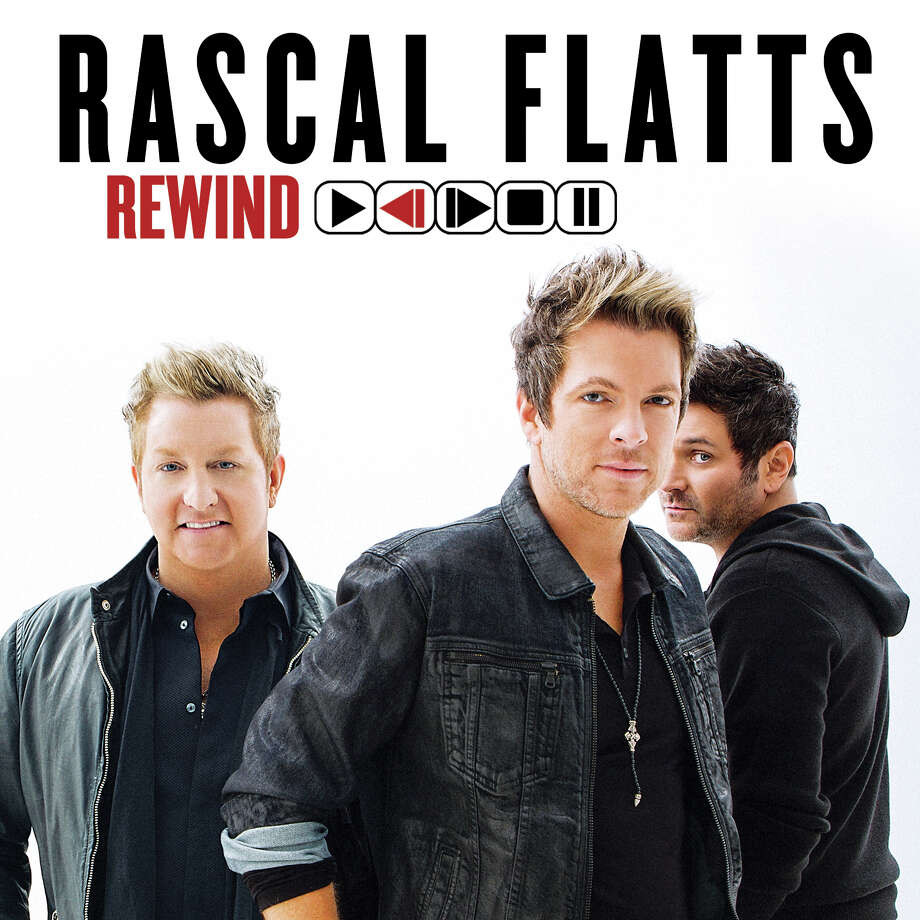 """This CD cover image released by Big Machine Records shows """"Rewind,"""" the latest release by Rascal Flatts. (AP Photo/Big Machine Records) ORG XMIT: NYET806 Photo: Uncredited / Big Machine Records"""
