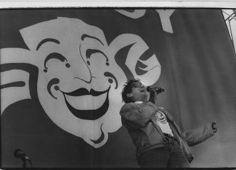Robin Williams at Chronicle Comedy Day in Golden Gate Park in 1987. Photo: Deanne Fitzmaurice, The Chronicle