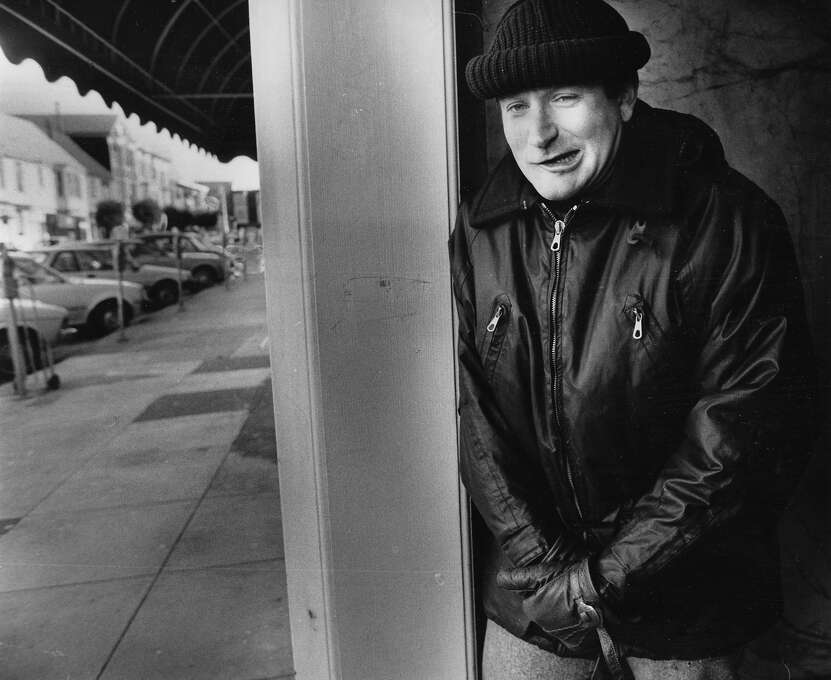 Robin Williams is seen in a photo shot Dec. 24, 1987.Williams was found dead at his home in Marin County on Monday, Aug. 11, 2014. He was 63. Photo: Fred Larson, The Chronicle