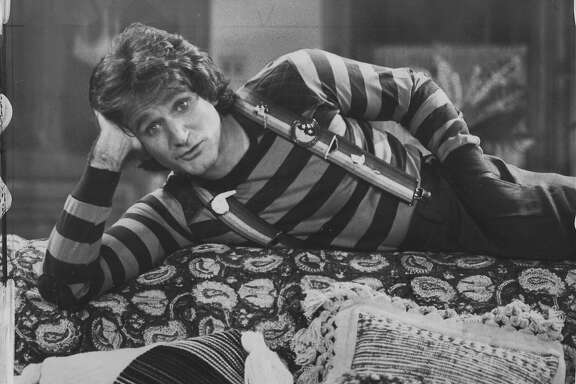 Robin Williams in Mork and Mindy  Photo ran 10/8/1978