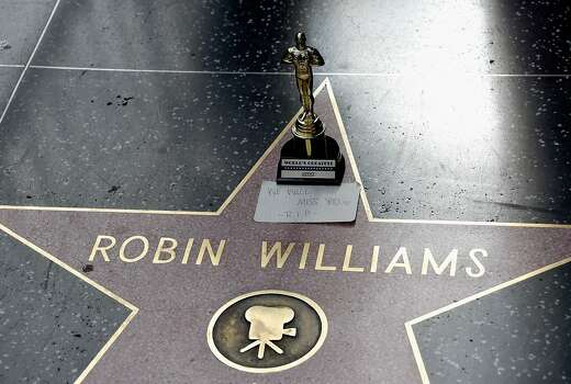 Actor Robin Williams' star is seen on the Hollywood Walk of Fame on August 11, 2014 in Los Angeles, California. Photo: Frazer Harrison, Getty Images