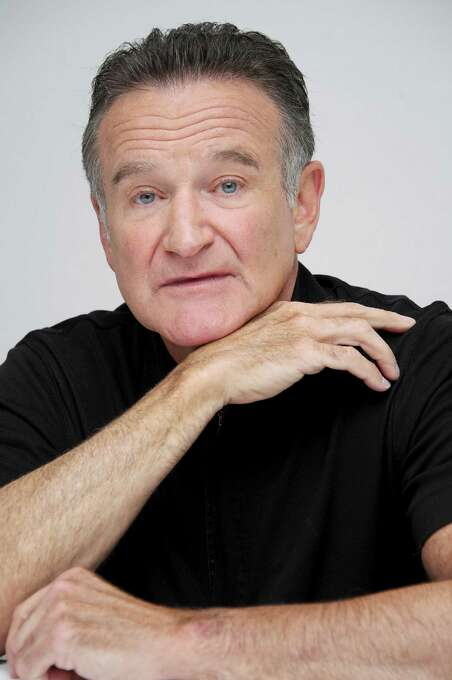 """Robin Williams at """"The Crazy Ones"""" Press Conference at the Four Seasons Hotel on October 8, 2013 in Beverly Hills. Williams was found dead at his home in Marin County on Monday, Aug. 11, 2014. He was 63. Photo: Vera Anderson, Wire Photo / 2013 Vera Anderson"""